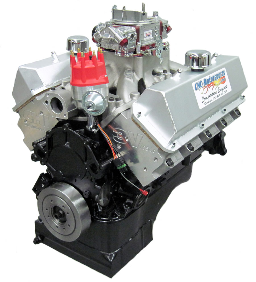 CNC Small Block Ford CLEVOR 427 Stroker Street Engine, 620+ HP (Cleveland  Style Head)