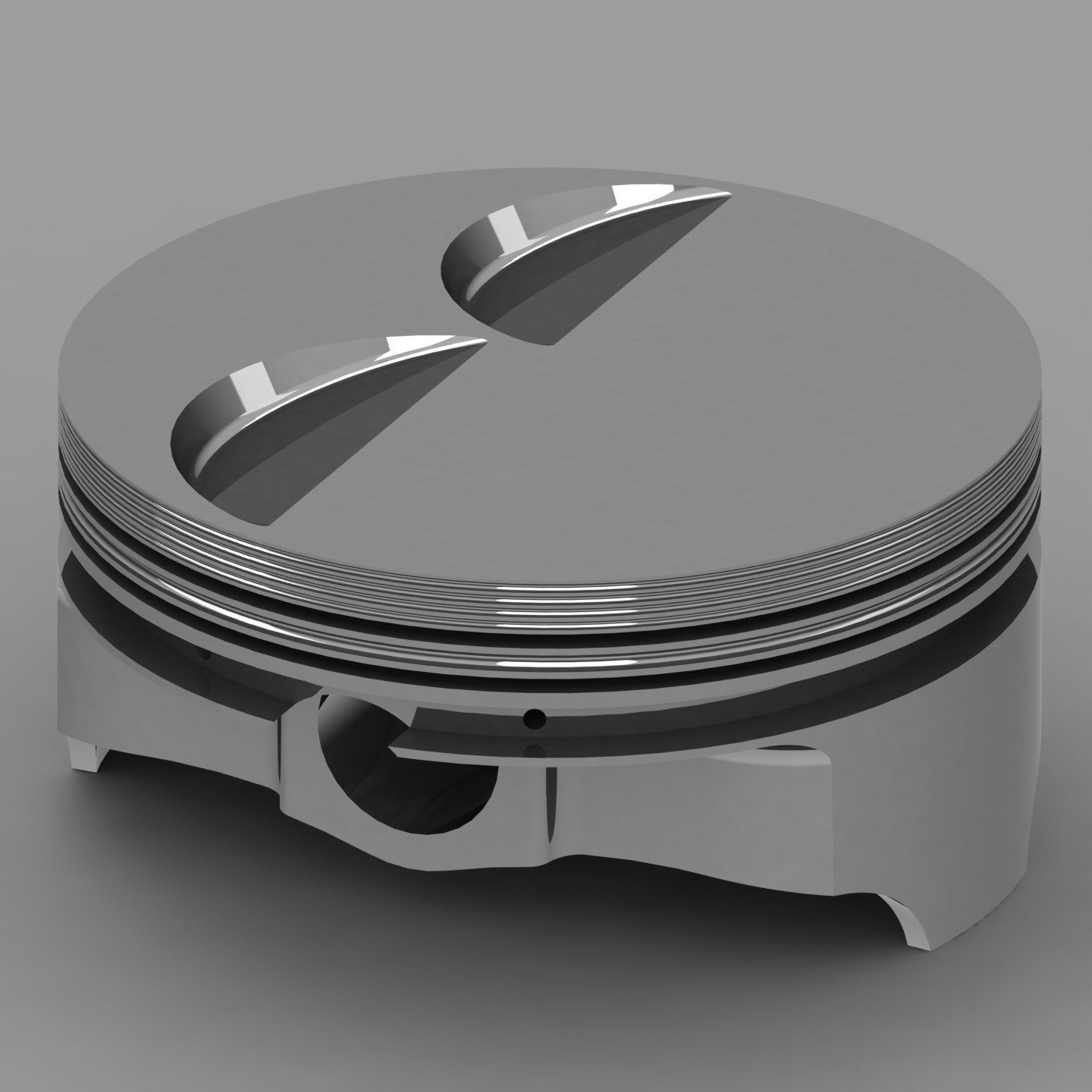 Chevy LS 6.2L Icon Forged Pistons Flat Top 5.9cc 4.075