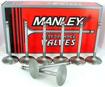 """Manley Exhaust Valve Set 12333-8; Race Master .3125/"""" 1.675/"""" for 6.4L HEMI"""