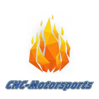 480616BL Fragola -16AN Aluminum Flare Plug Black