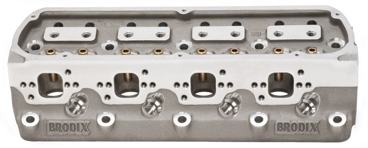 Brodix 1078000 BP LH 17 195 Series Ford Cylinder Heads Bare (2 heads)