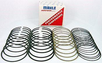 "Mahle Motorsport Piston Ring Set 4150MS; Plasma-Moly 4.145/"" File Fit Performance"