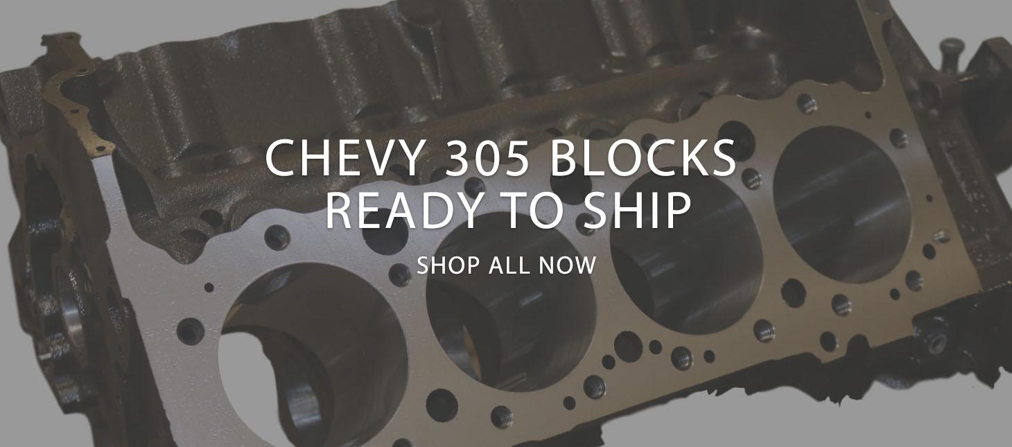 Chevy 305 Block