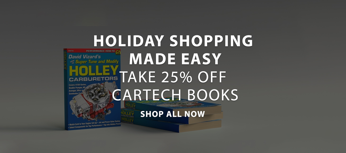 Cartech Books On Sale
